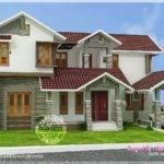 Kerala Sloping Roof House Home Design Floor Plans
