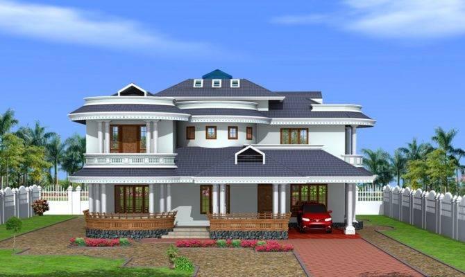 Kerala Style Bungalow Design