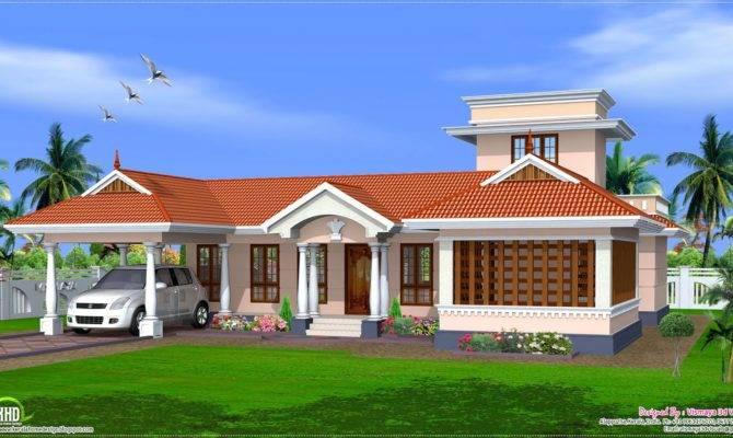 Kerala Style Single Floor House Design Plans