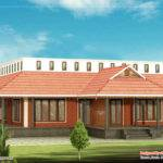 Kerala Style Single Floor House Indian Plans