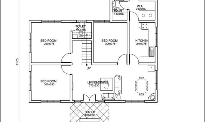 Kerala Style Single Floor House Plan Home