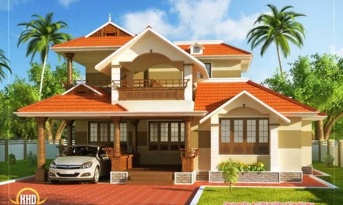 Kerala Style Traditional House Square Meter