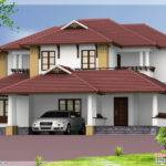 Kerala Style Traditional Sloping Roof House Home Design