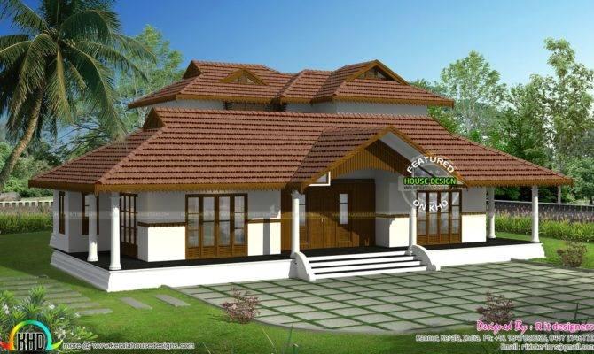 Kerala Traditional Home Plan Design