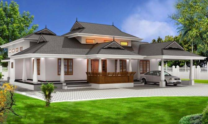 Kerala Traditional House Designs
