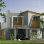 Kerala Two Story House Elevation Design