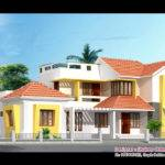Kerala Villa Elevation Plan