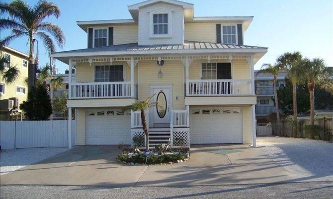 Key West Style House Steps Beach Vrbo