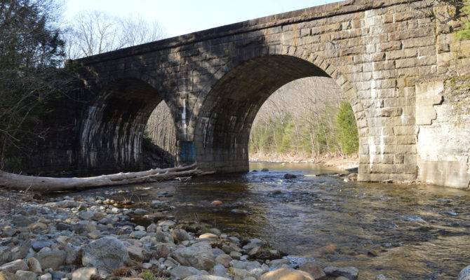 Keystone Arch Bridges Trail Huntington New England
