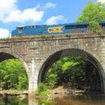 Keystone Arches Double Arch Railroad Bridge Photograph