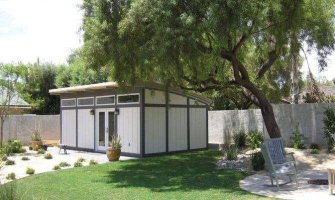 Kit Home Backyard Studio Guest House Small Dwellings Pinterest