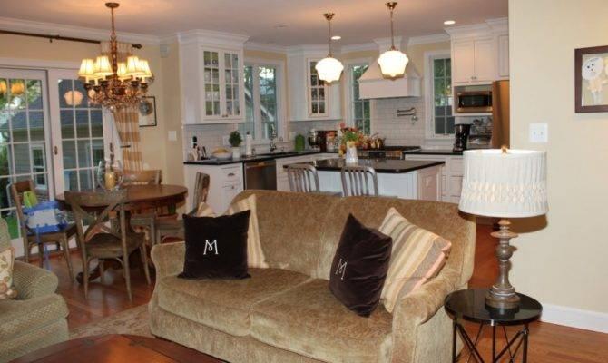Kitchen Amazing Open Floor Plans Spacious Look Small