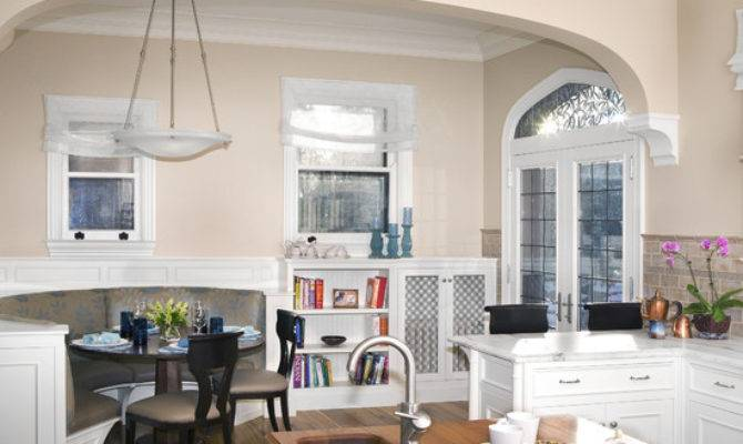 Kitchen Booth Beautiful Homes Design