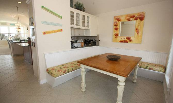 Kitchen Booth Home Pinterest