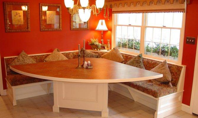 Kitchen Booth Seating Dining Room Traditional