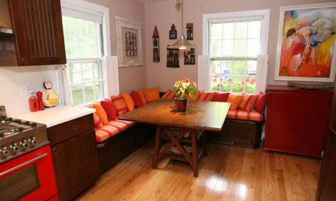 Kitchen Booth Seating Nice Banquette