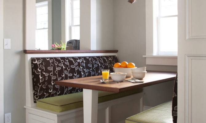 Kitchen Booth Seating Transitional Banquette