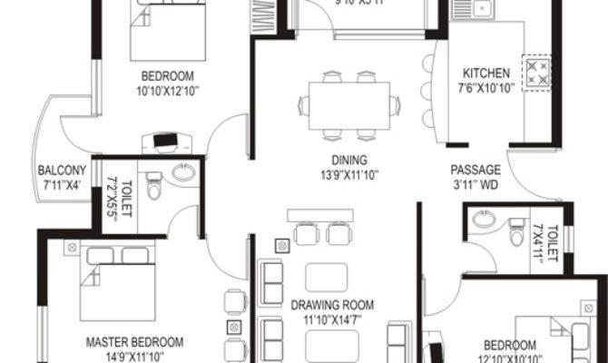 Kitchen Counter Design Residential Floor Plans House