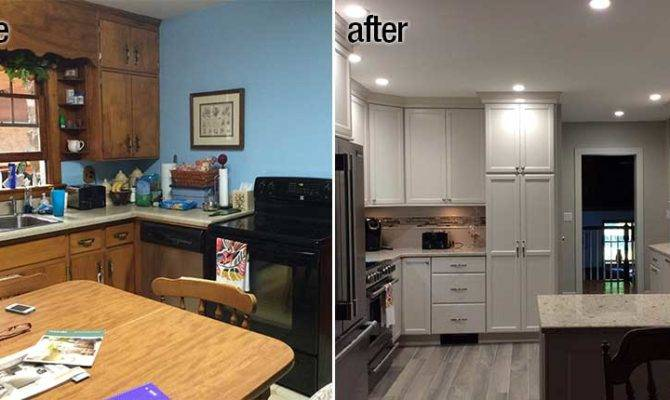 Kitchen Design Before After Bath
