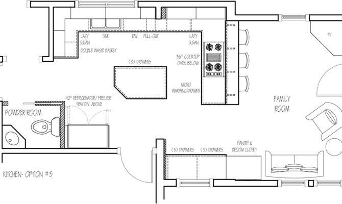Kitchen Design Floor Plan Ideas