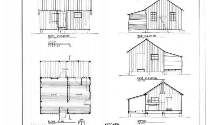 Kitchen Elevations Floor Plan Section Dudley