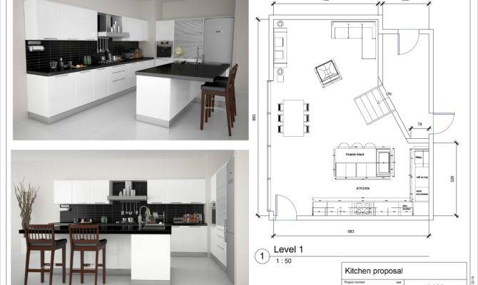 Kitchen Floor Plan Layouts Designs Home