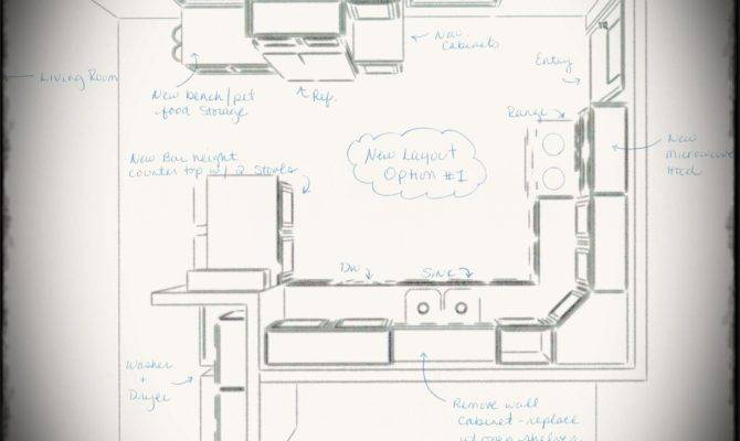 Kitchen Galley Layouts Shaped Layout