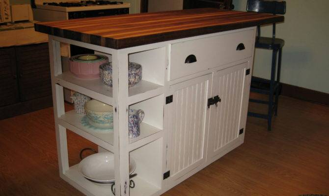 Kitchen Island Pine Built Using Ana Base Cabinet Plans