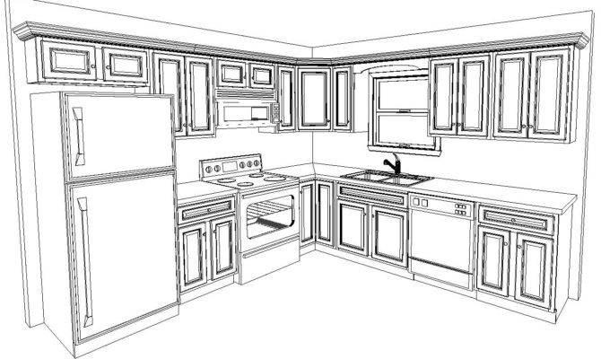 Kitchen Layout Included Standard