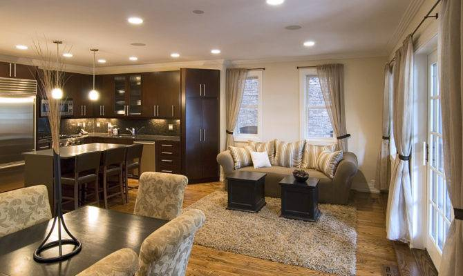 Kitchen Living Room Combo All