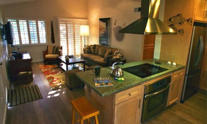Kitchen Living Room Open Floor Design Interior Architecture