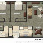 Kitchen One Room Innovative Bedroom Studio Apartment Floor Plan