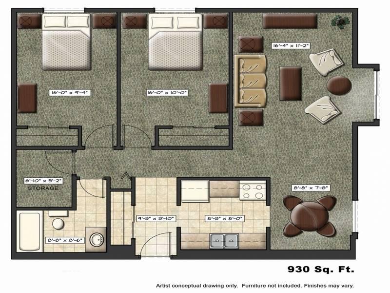 captivating studio apartment one room kitchen   Kitchen One Room Innovative Bedroom Studio Apartment Floor ...