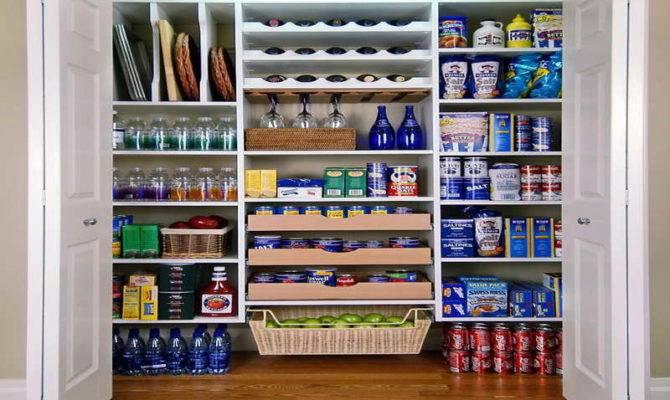 Kitchen Pantry Shelving Ideas Design