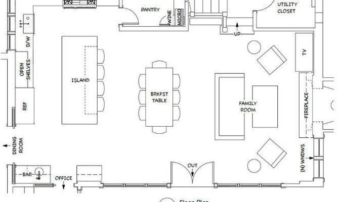 Kitchen Templates Floor Plans Rapflava