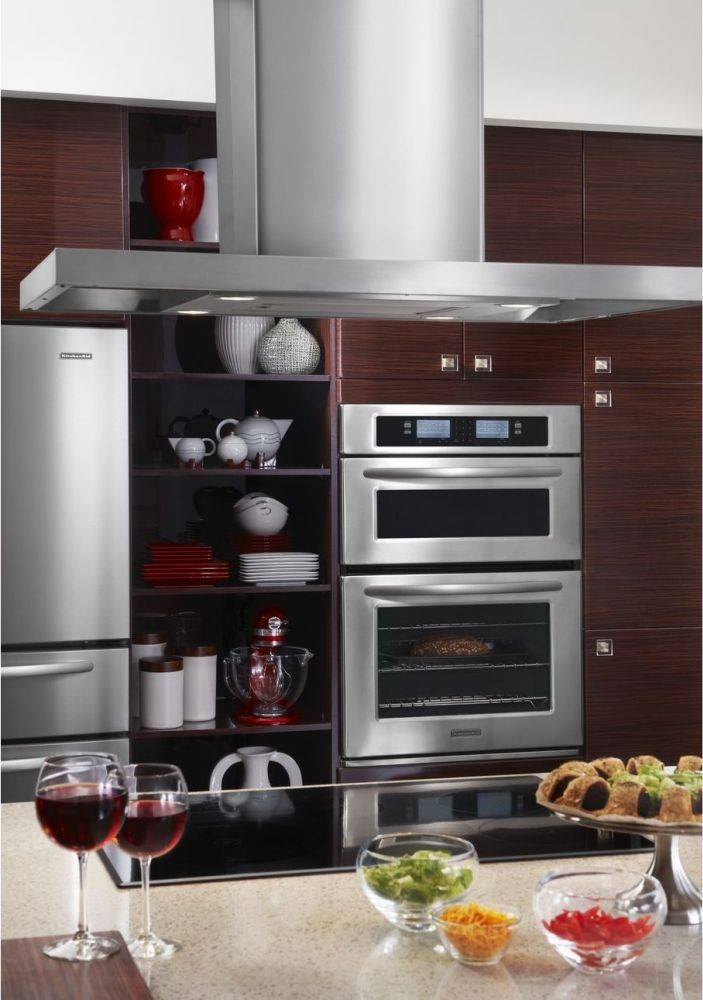 Kitchenaid Kehu Sss Microwave Combination Wall Oven