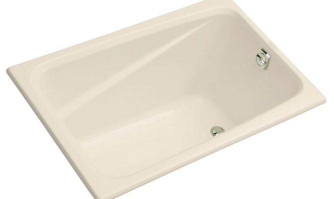 Kohler Greek Reversible Drain Acrylic Soaking Tub