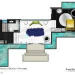 Kohler Guest Pool House Plan