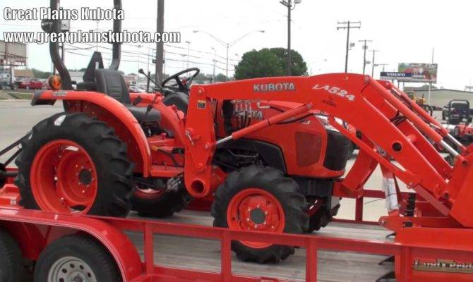 Kubota Tractor Packes Youtube