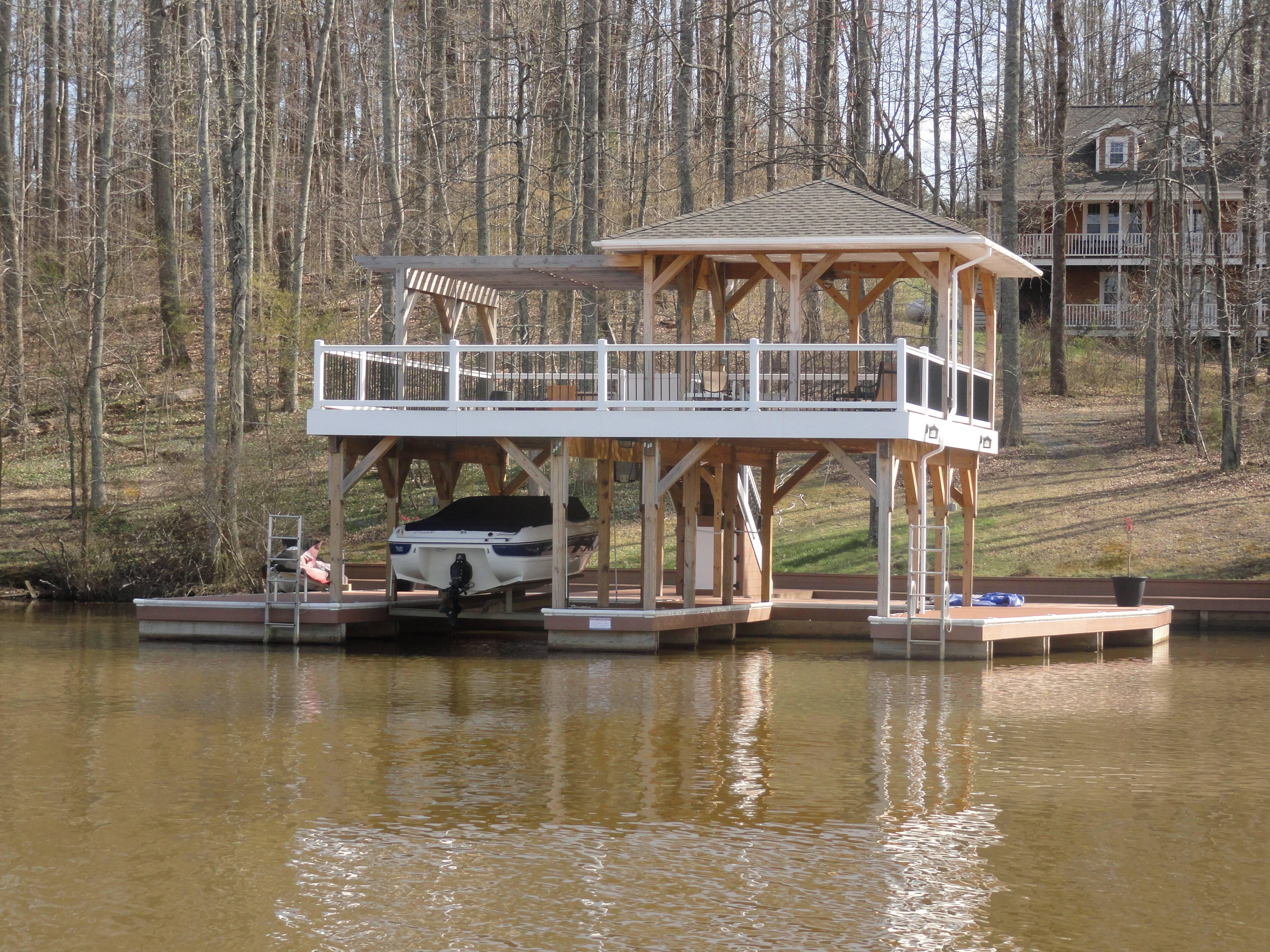 Lake Boat House Designs Boathouse Home Ideas