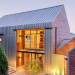 Lake House Contemporary Exterior Seattle
