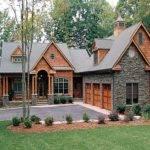 Lake House Plans Walkout Basement Craftsman