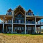 Lakefront House Plan Wraparound Porch Walkout Basement