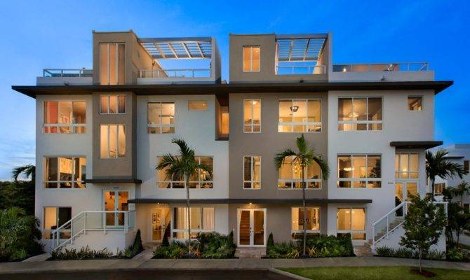 Landmark Story Townhomes New Home Community Doral