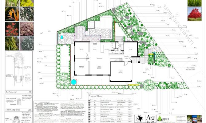 Landscape Plan Examples Apex