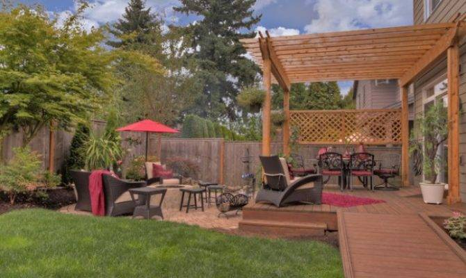 Landscaping Deck Design Ideas Small Backyards