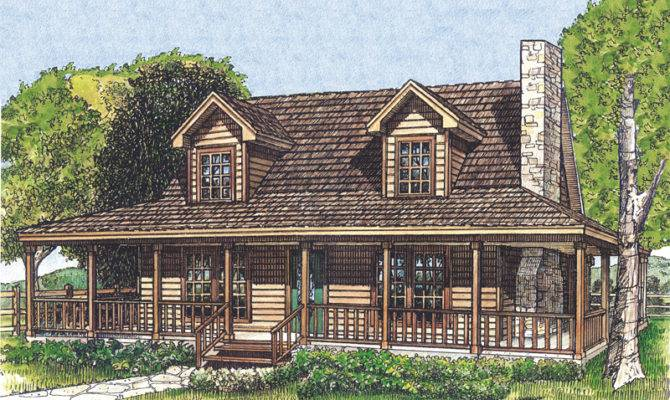 Laneview Rustic Country Home Plan House Plans
