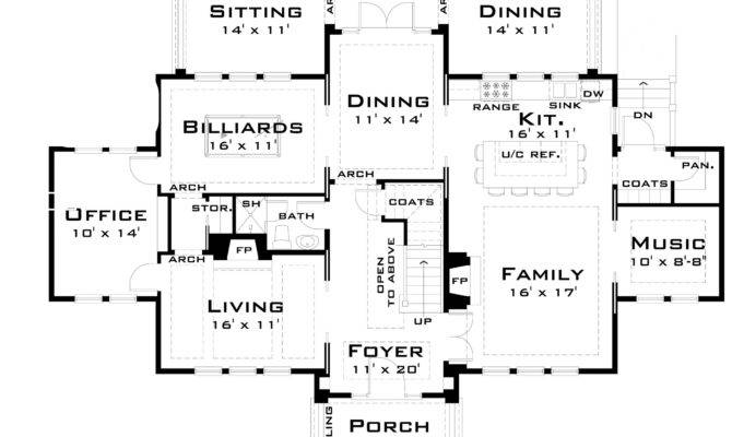 Large Architectural Designs