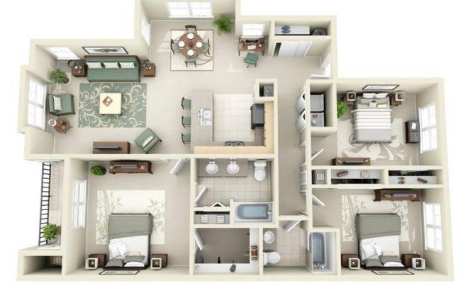 Large Bedroom House Interior Design Ideas