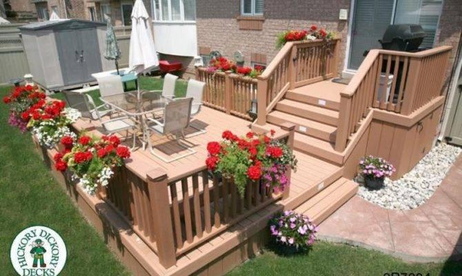 Large Diy Deck Plans